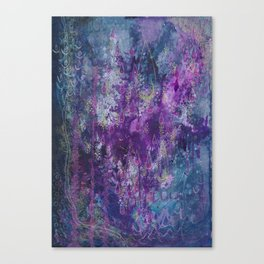 nocturnal bloom Canvas Print