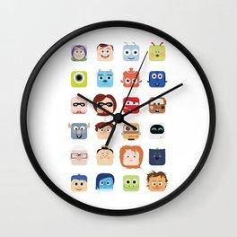 Pixar Characters Wall Clock