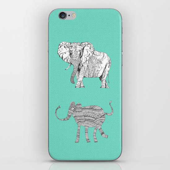two ways to see one elephant iPhone & iPod Skin