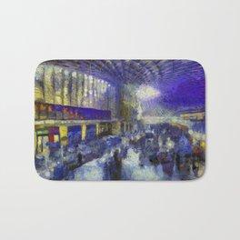 Kings Cross Station Van Gogh Bath Mat