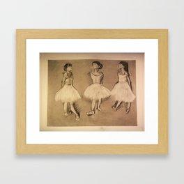 Degas Master Copy Framed Art Print