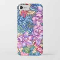 orchid iPhone & iPod Cases featuring Orchid Splash by Vikki Salmela
