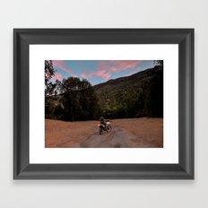 Get Lost Framed Art Print