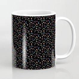 Funky Filaments (black) Coffee Mug