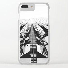 To the Limit - World Trade Center - NYC Clear iPhone Case