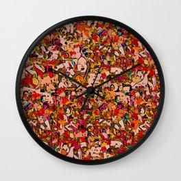 Crowd - Sand Wall Clock