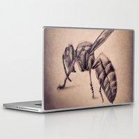 bee Laptop & iPad Skins featuring Bee by Werk of Art