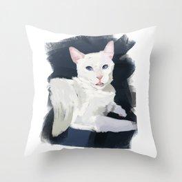 Shelter Cat Throw Pillow