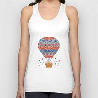 hot air balloon Tank Tops featuring Hot Air Balloon by haidishabrina