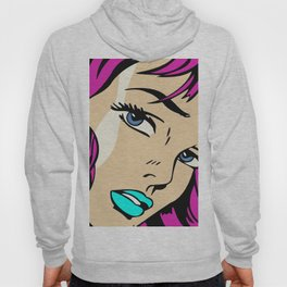 A roughly vectorised and reworked Roy Lichtenstein Hoody