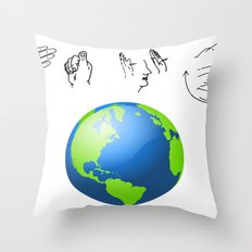 And I think to myself Throw Pillow
