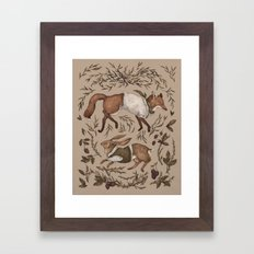 Tricksters Framed Art Print