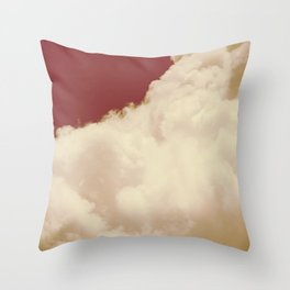 Clouds in the Sky Throw Pillow