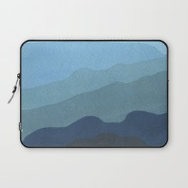 Landscape Blue Laptop Sleeve
