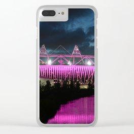 London Olympic Stadium Clear iPhone Case