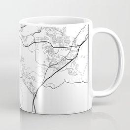 Minimal City Maps - Map Of Santa Clarita, California, United States Coffee Mug