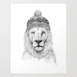 Winter is here I Art Print