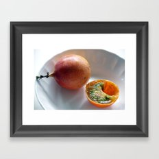 Lulo and Granadillo Framed Art Print