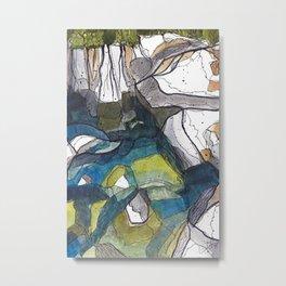 The Swimmin' Hole Metal Print