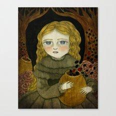 The Garden Tamer Canvas Print