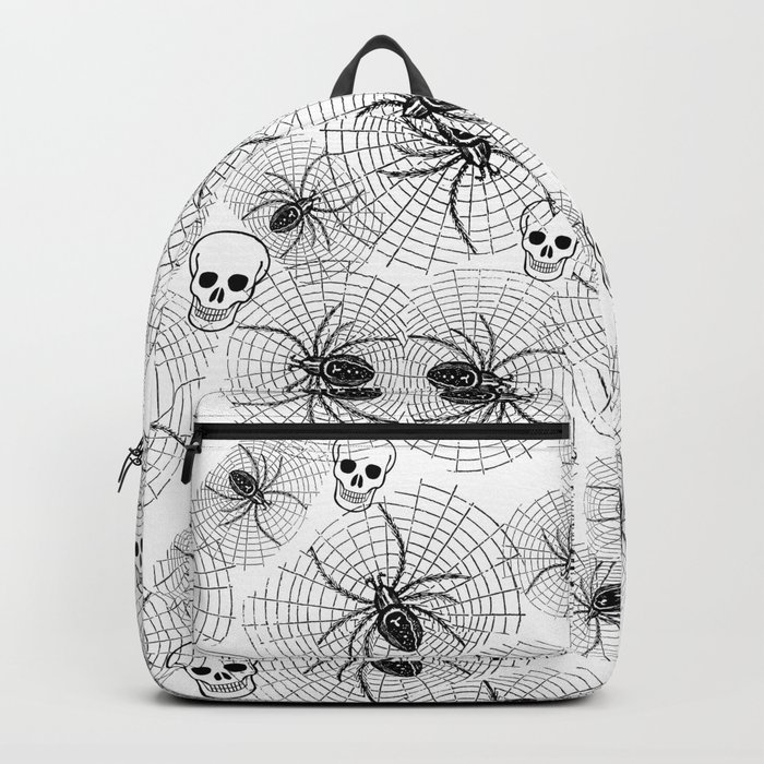 Spiders and Skulls Backpack