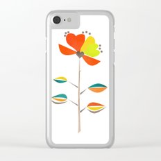 Fantasy . Flower . Clear iPhone Case