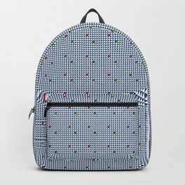 Little Blue Triangles Backpack