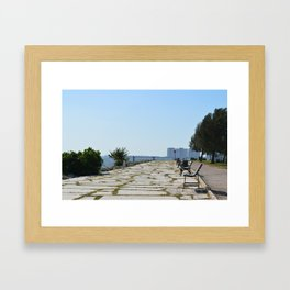 Path to the Ocean Framed Art Print