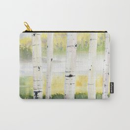 Behind The Birch Trees Carry-All Pouch