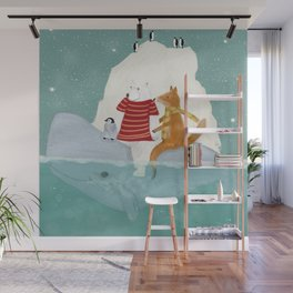 a winters journey Wall Mural