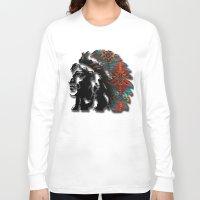 navajo Long Sleeve T-shirts featuring Navajo by Skye