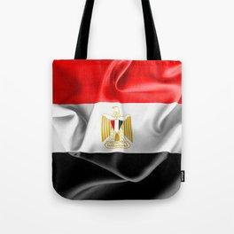 Egypt Flag Tote Bag