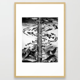 The Swim Framed Art Print