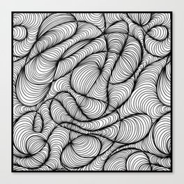 Waves Motion Canvas Print