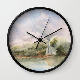 East Channel Lighthouse Wall Clock