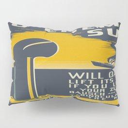 Vintage poster - No Enemy Sub Pillow Sham