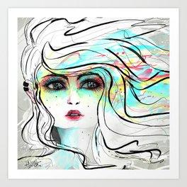 Make up N Art Print