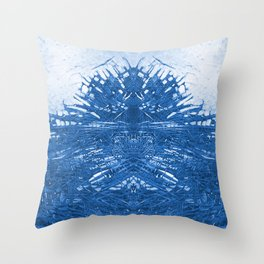 Sea water abstraction Throw Pillow