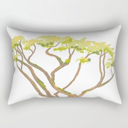 Arbutus Tree 1 Rectangular Pillow