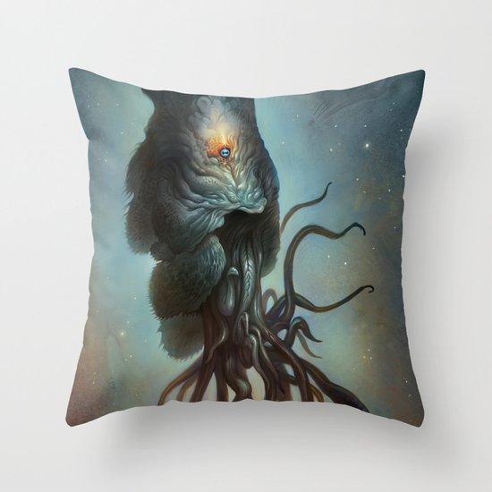 Yawanpok the Void Menace Throw Pillow