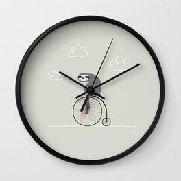 The Happy Ride Wall Clock