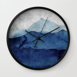 Water color landscape  Wall Clock