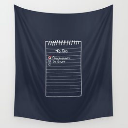 Todo List Wall Tapestry
