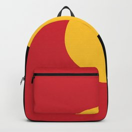 Australian Aboriginal Flag Backpack