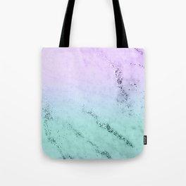 Unicorn Mermaid Girls Glitter Marble #1 #decor #art #society6 Tote Bag