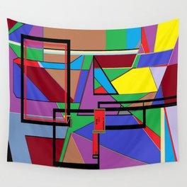 Geometry - Shape on Shape Wall Tapestry