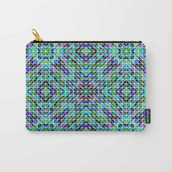 Kaleidoscope mosaic Carry-All Pouch