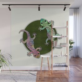 Gecko Watercolor and Ink Edition 1 Wall Mural