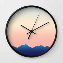 Hometown Sunset Wall Clock