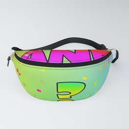 Question And ? Fanny Pack